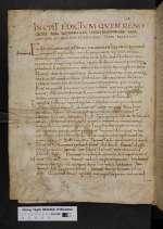 Sammlung germanischer Volksrechte - karolingische Kapitulare. [Cod. Guelf. 130 Blank.]