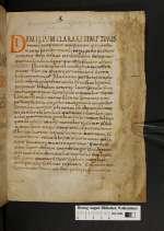Julianus episcopus Toletanus. Weissenburger Aesopus. Physiologus. [Cod. Guelf. 148 Gud. lat.]