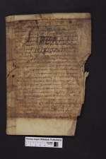 Beda: Erklärung der Apokalypse (Fragment). [Cod. Guelf. 404.8.2 (15) Novi]