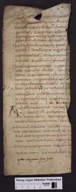 Lectionar (Fragment). [Cod. Guelf. 404.8.3 (4) Novi]
