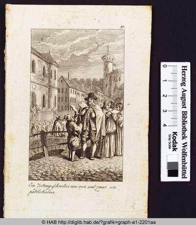 Ein Zeitungsschreiber von 1704 und zwar ein patriotischer