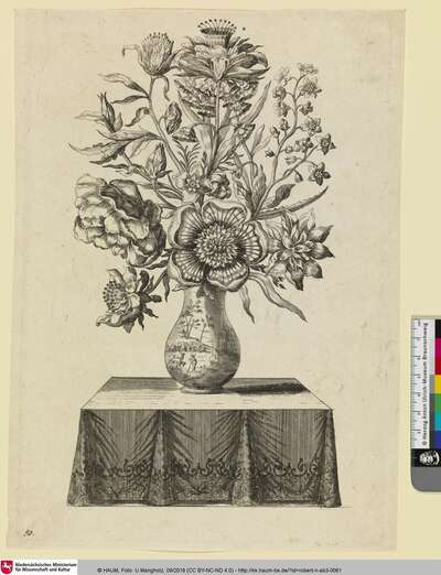 [Blumen in einer Vase]