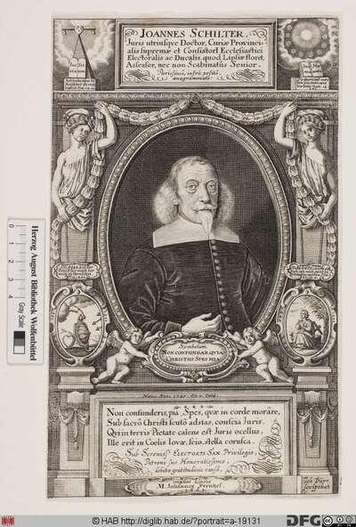 Bildnis Johann Schilter d. Ä.
