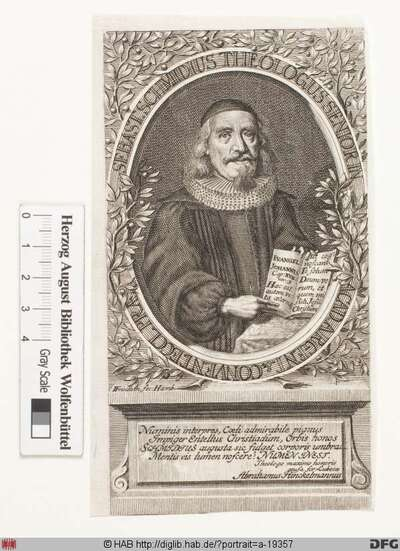 Bildnis Sebastian Schmidt