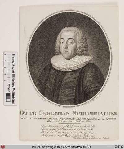 Bildnis Otto Christian Schuchmacher