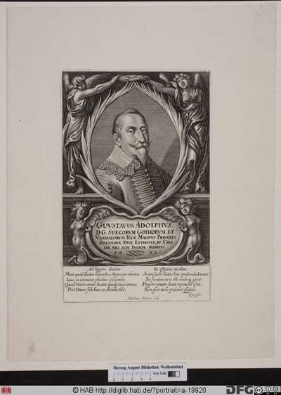 Bildnis Gustaf II. Adolf, König von Schweden (reg. 1611-32)