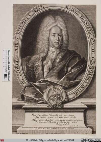 Bildnis Georg Peter Stelzer (Steltzer)