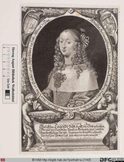 Bildnis Amalia Frau zu Stubenberg, geb. von Khevenhüller