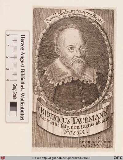 Bildnis Friedrich Taubmann