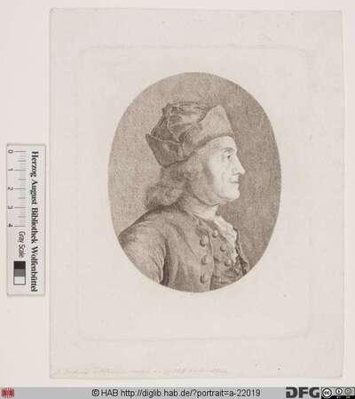 Bildnis Johann Heinrich Tischbein d. Ä. (gen. der Kasseler Tischbein)