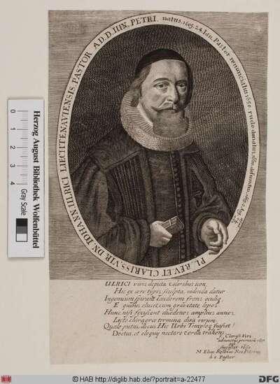 Bildnis Johann Ulrici (Ulrich)