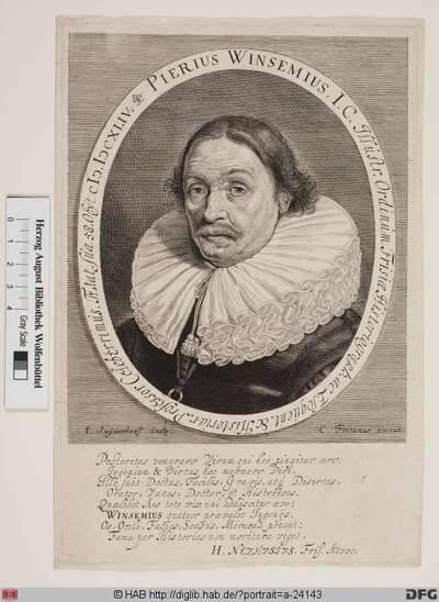 Bildnis Pieter Winsemius