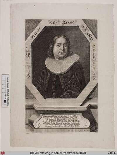 Bildnis Gottfried Zäh