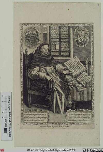 Bildnis Carlos de Bastida y Biedma (Klostername: Dominicus)