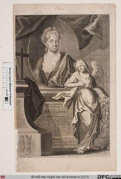 Bildnis Barbara Dorothea Bastineller, geb. Freystein