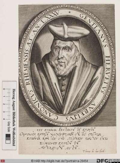 Bildnis Gentien Hervet