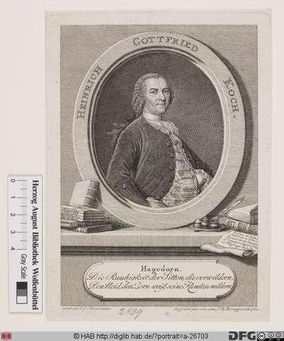 Bildnis Heinrich Gottfried Koch