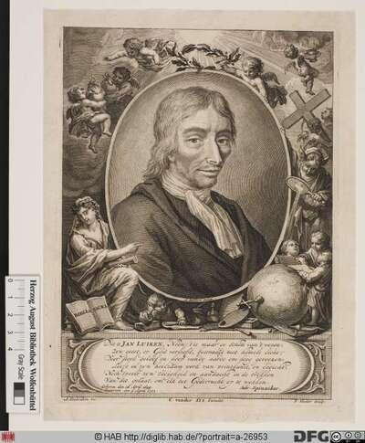 Bildnis Jan Luyken (Luiken)