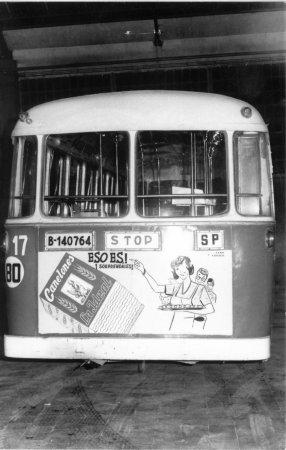 Pastas la Ideal, publicitat a l'autobús
