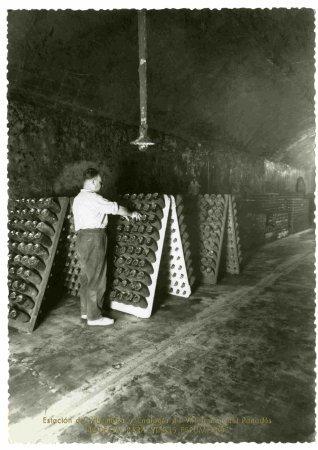 Bodega per a vins espumosos