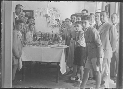 Celebració d'un dinar familiar