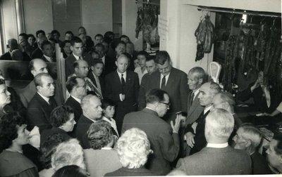 Inauguració de l'economat dels Grups de Montserrat