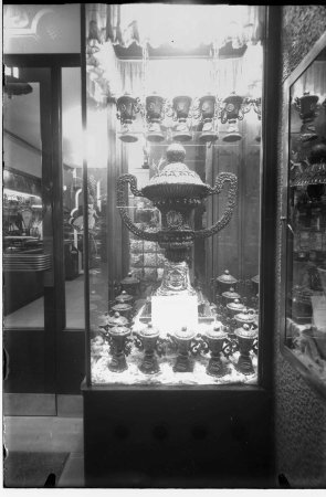 Trofeu de xocolata de la Pastisseria La Lyonesa