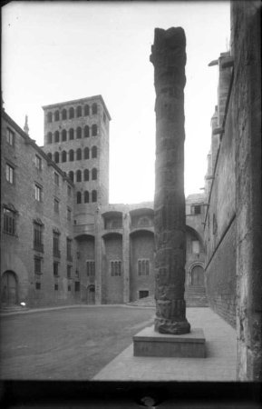 Plaça del Rei de Barcelona.