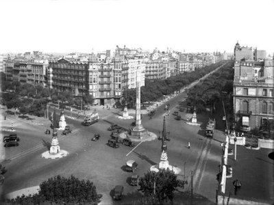Cruïlla del Passeig de Gràcia amb Diagonal de Barcelona