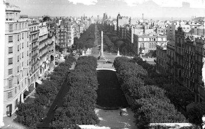 Passeig de Gràcia de Barcelona.