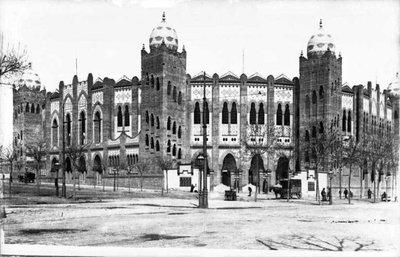 Plaça de Toros Monumental de Barcelona.