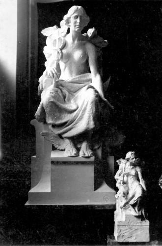 Model alegorije Trgovine (Merkur) za Trgovačko-obrtničku komoru u Zagrebu