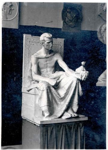 Model alegorije Kiparstva za Umjetnički paviljon
