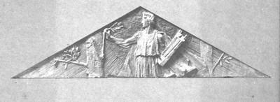 Apolon Musagetes - skica za timpanon Umjetničkog paviljona