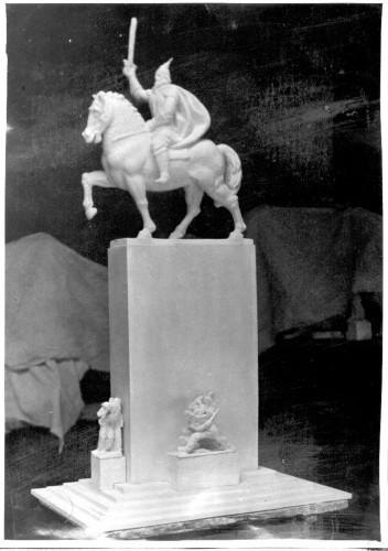 Skica za spomenik Skender-begu u Tirani