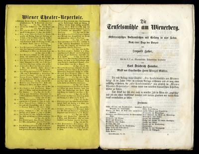Die Teufelsmühle am Wienerberg