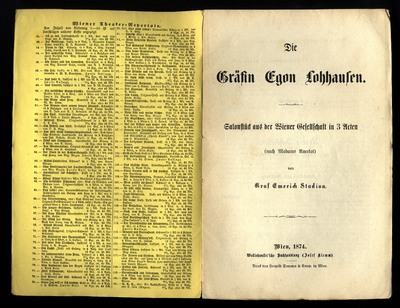 Die Gräfin Egon Lohhausen