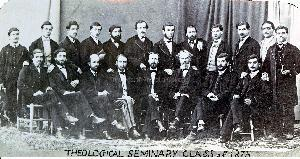 Theological Seminary Class of 1875