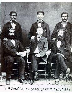 Theological Seminary Class of 1881