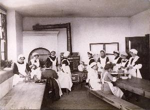 Cooking Class 1914-1915