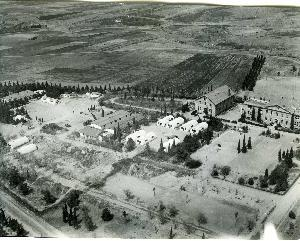 Aerial photograph of Anatolia College campus in Pylea; 1