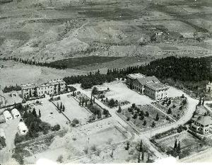 Aerial photograph of Anatolia College campus in Pylea; 2