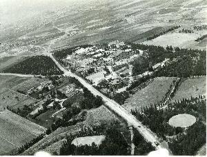 Aerial photograph of Anatolia College campus in Pylea; 12