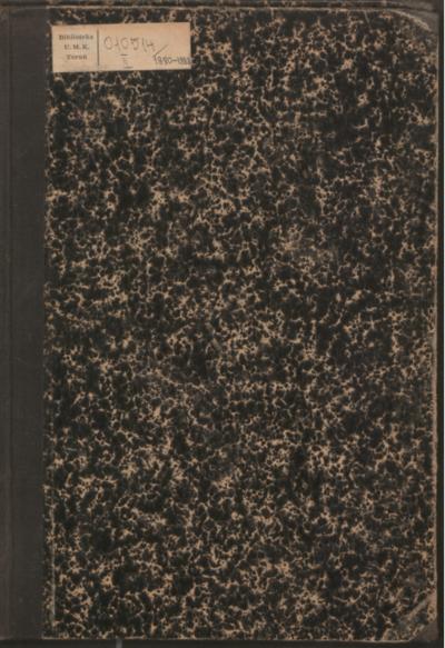 Sitzungs-Berichte der Anthropologischen Section der Naturforschenden Gesellschaft in Danzig, 1880-1888