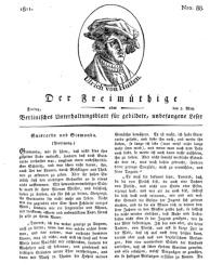 Der Freimüthige, oder Berlinisches Unterhaltungsblatt für gebildete, unbefangene Leser, 3 Mai 1811, Nr. 88