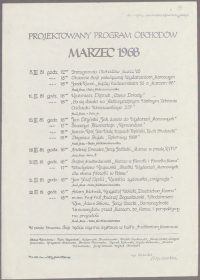 Omnia Marzec 1968