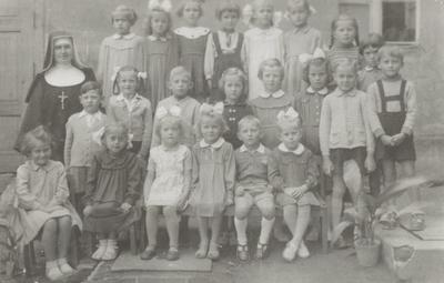 1959. Dzieci z ochronki w Mogilnie