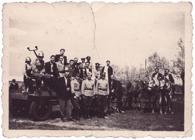 1945. Dąbrówecka straż po zakończeniu II wojny światowej