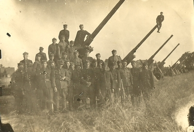1939-1945. II wojna światowa. Artylerzyści