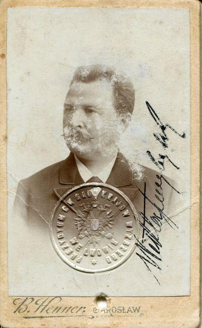 1890-1906. Wiktor Przybylski (1847-1926), fotografia portretowa
